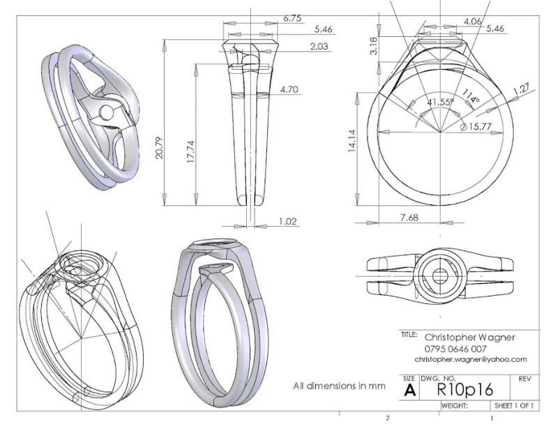 The final ring design